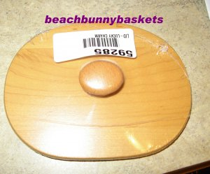 NEW Longaberger Wooden 2002 Lucky Charm - Hostess Appreciation LID ONLY - FREE SHIPPING
