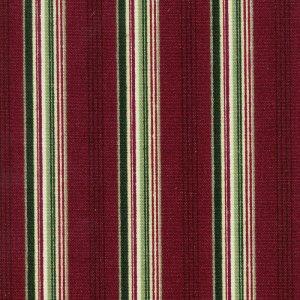 NEW Longaberger 5 YARD FABRIC - Holiday Stripe