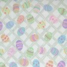 NEW Longaberger Easter Egg Hunt Cotton FABRIC 5 Yards Uncut