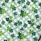 NEW Longaberger Lots of Luck/Lucky You Shamrock FABRIC 5 Yards Uncut