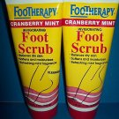 6 Queen Helene Footherapy Cranberry Mint Foot Scrub