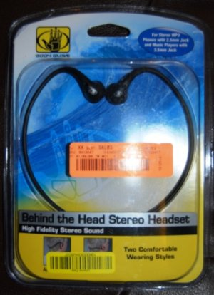 Body Glove Behind the Head Stereo Headset by Fellowes