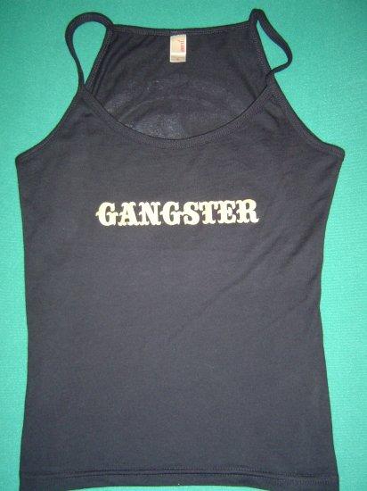 "Women's Gangster Bull ""Teardrop"" Spaghetti Top - SMALL"