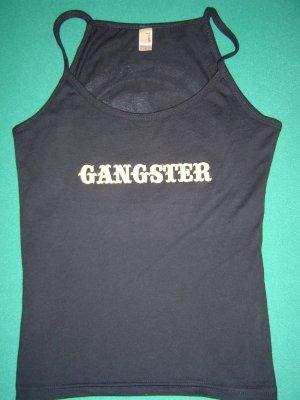 "Women's Gangster Bull ""Teardrop"" Spaghetti Top - X-LARGE"