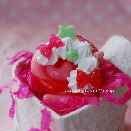 Lollipop ring (AB)
