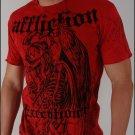 Affliction Bernard Hopkins Red T-Shirt