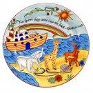 Noah's Ark Ceramic Plate