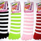 1 PAIR WOMENS JUNIORS TOE SOCKS TOESOCKS FREE SHIPPING
