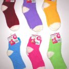 WHOLESALE LOT 24 FUZZY SOCKS WOMENS NEW LADIES SOX