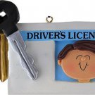 PERSONALIZED NAME NEW MALE DRIVERS LICENSE ORNAMENT WE CAN PERSONALIZE FOR YOU