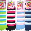 10 PAIRS WOMENS JUNIORS TOE SOCKS TOESOCKS UNIQUE SOX