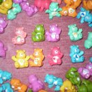 8 CARE BEAR FIGURES PARTY FAVORS CAKE TOPPERS WHOLESALE