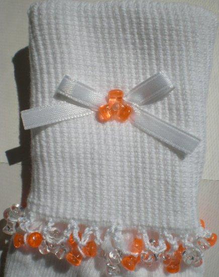 Halloween Tri Beads-Embroidered Socks