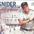 2003 Duke Snider Brooklyn Dodgers Flair Greats Ballpark Heroes Card 7BH