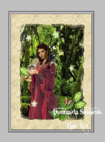 Tarot One by Donnalda Smolens