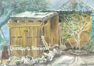 Cabot's 29 watercolor by Donnalda Smolens
