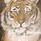 SIBERIAN TIGER  9x12 pastel drawing