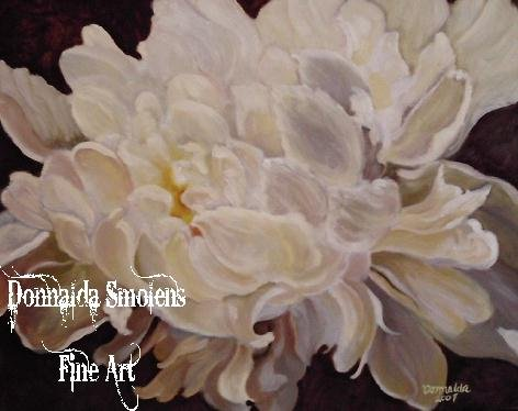 Backlit Peony by Donnalda Smolens