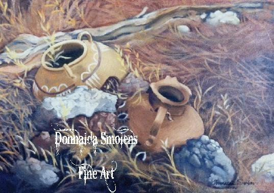 Ancient Pottery by Donnalda Smolens