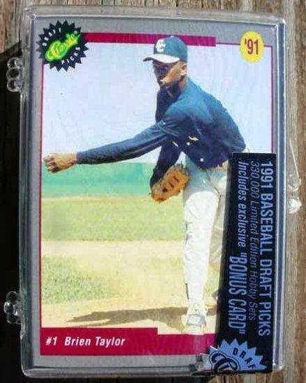 New 1991 Score Baseball Draft Picks set.