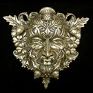 Green Man Wall Plaque by Maxine Mille