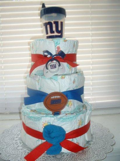 Baby Giants Fan (large) 3 Tier Diaper Cake