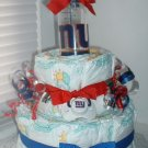 Giants Fan (medium) 2 Tier Diaper Cake