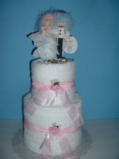 Fairy Bridal Towel Cake