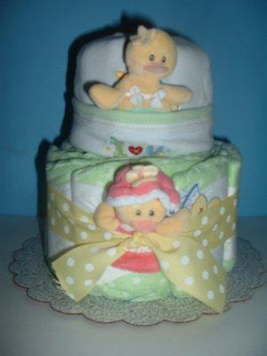 Quackers Diaper Cake