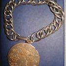 Vintage 1930s-40s FLORIDA Charm Bracelet
