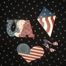 America 4th of July Patriotic USA Crafts