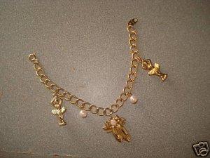 *Free Shipping* NWOT Beautiful Prima Ballerina Ballet Charm Bracelet