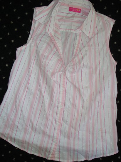 FREE SHIPPING  Liz Lange Maternity Stretch Summer Top Sm EUC