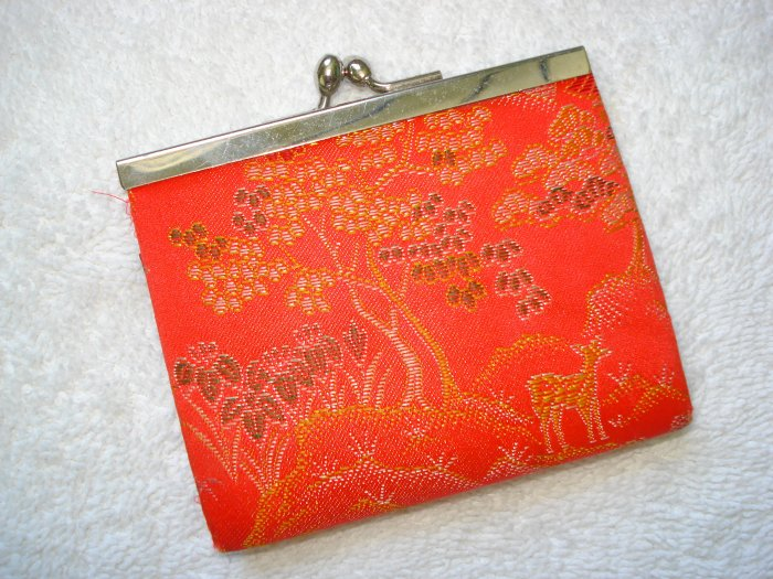 FREE SHIPPING Oriental Style Silk Coin Purse
