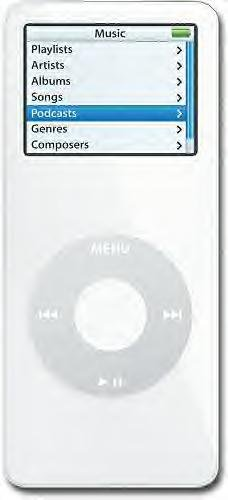 Apple iPod nano 4GB MP3 Player White
