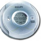Philips  CD Player with CD-R RW MP3 Playback and LCD Touch Screen Silver