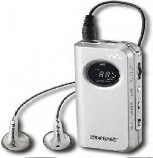 Sony Walkman Ultracompact Digital Radio