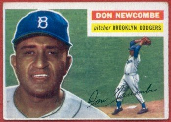 1956 Topps #235 Don newcombe - Brooklyn Dodgers