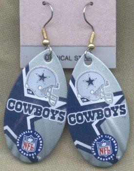 Dallas Cowboys Ear Rings
