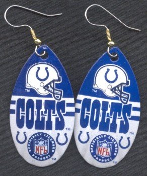 Indianapolis Colts Ear Rings