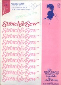 Stretch & Sew Patterns - 5 Different Patterns