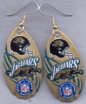Jacksonville Jaguars Ear Rings