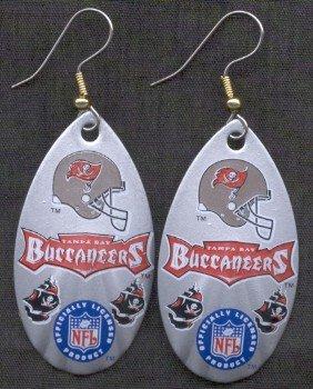 Tampa Bay Bucaneers Ear Rings