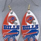 Buffalo Bills Ear Rings