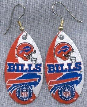 Buffalo Bills Ear Rings