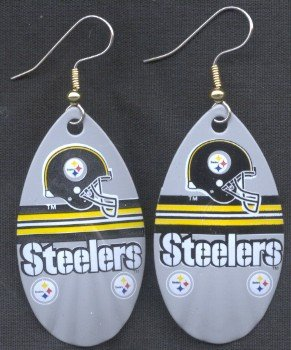 Pittsburgh Steelers Ear Rings