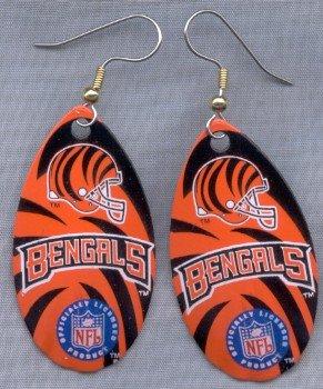 Cincinnati Bengals Ear Rings