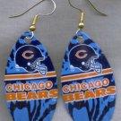 Chicago Bears Ear Rings