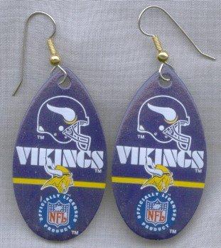 Minnesota Vikings Ear Rings