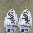 Chicago White Sox Ear Rings